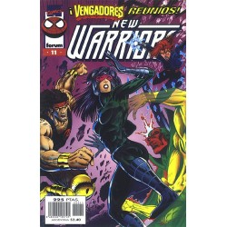 THE NEW WARRIORS VOL.3 Nº 11