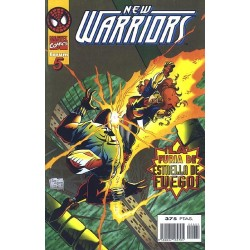 THE NEW WARRIORS VOL.3 Nº 5