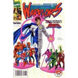 THE NEW WARRIORS VOL.1 Nº 34 VANCE ASTROVIK: HONOR, PODER Y JUSTICIA