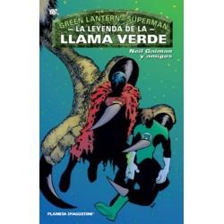 GREEN LANTERN - SUPERMAN: LA LEYENDA DE LA LLAMA VERDE