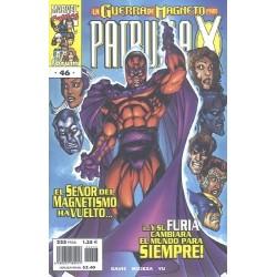 PATRULLA X VOL.2 Nº 46 LA GUERRA DE MAGNETO 2ª PARTE