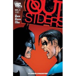 OUT SIDERS Nº 16