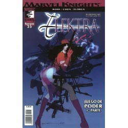 MARVEL KNIGHTS: ELEKTRA Nº 25