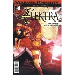 MARVEL KNIGHTS: ELEKTRA Nº 19