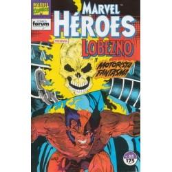 MARVEL HEROES Nº 65 LOBEZNO Y MOTORISTA FANTASMA