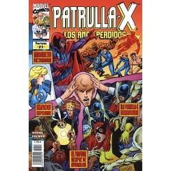 PATRULLA X: LOS AÑOS PERDIDOS Nº 21