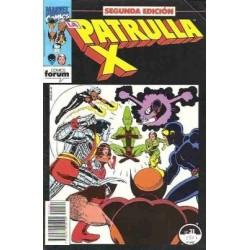 PATRULLA X Nº 31 SEGUNDA EDICIÓN