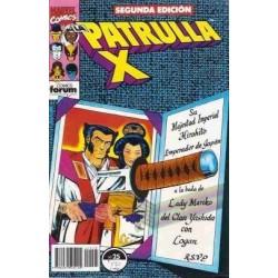 PATRULLA X Nº 25 SEGUNDA EDICIÓN