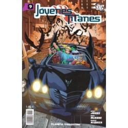 JÓVENES TITANES Nº 9
